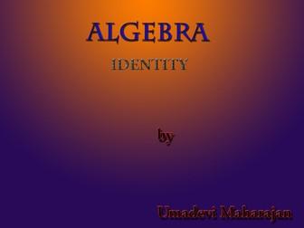 Algebra - Identity