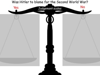 Was Hitler to blame for the Second World War?
