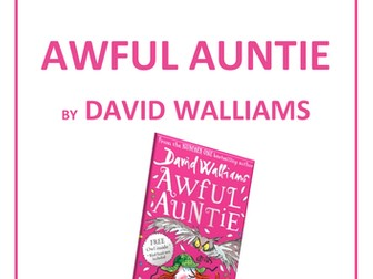Awful Auntie Guided Reading Comprehension Questions (book study, teaching sequence)