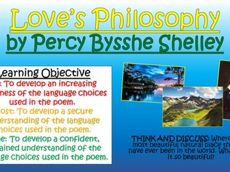 Love's Philosophy - Percy Bysshe Shelley - Love/ Relationships Poetry