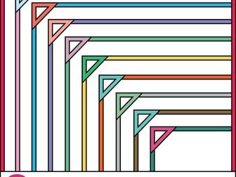 Thin Borders: Triangle Frames