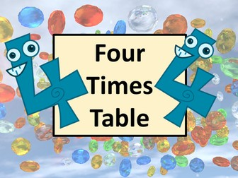 Four Times Table Practice