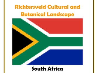 Africa: South Africa- Richtersveld Cultural and Botanical Landscape Research Guide