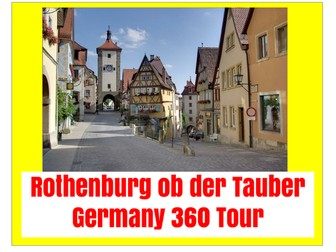Rothenburg ob der Tauber : Germany Virtual Tour Guide