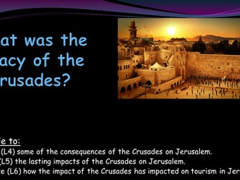 What was the legacy of the Crusades?