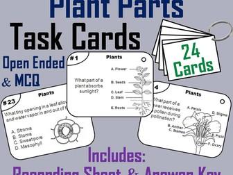 Plants Task Cards