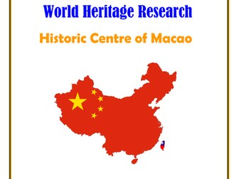 China: Historic Centre of Macao