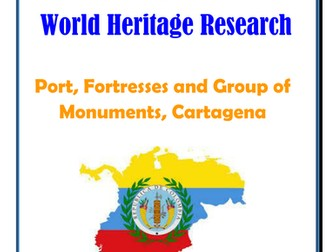 Columbia: Port, Fortresses and Group of Monuments, Cartagena Research Guide
