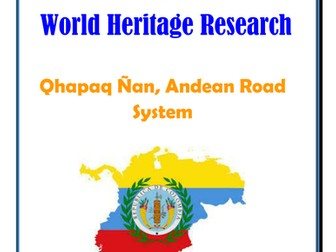 Columbia: Qhapaq Ñan, Andean Road System Research Guide