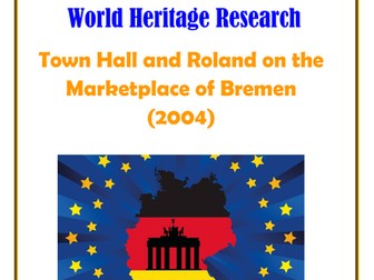 Germany: Town Hall and Roland on the Marketplace of Bremen