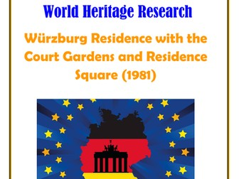 Germany: Würzburg Residence with the Court Gardens and Residence Square