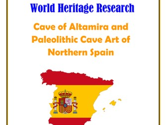Spain: Cave of Altamira and Paleolithic Cave Art of Northern Spain Research Guide