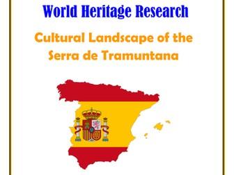 Spain: Cultural Landscape of the Serra de Tramuntana Research Guide
