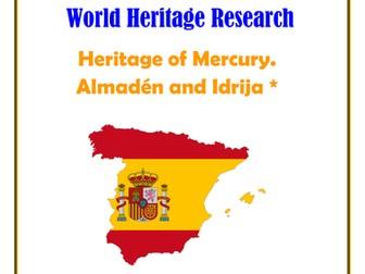 Spain: Heritage of Mercury. Almadén and Idrija* Research Guide