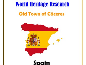Spain: Old Town of Cáceres Research Guide