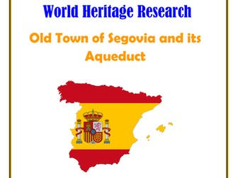 Spain: Old Town of Segovia and its Aqueduct Research Guide