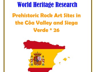 Spain: Prehistoric Rock Art Sites in the Côa Valley and Siega Verde * 26 Research Guide