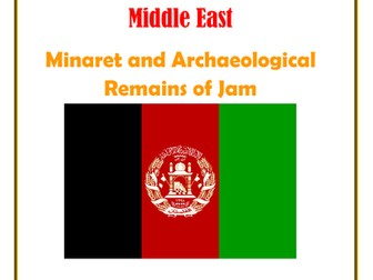 Middle East: Afganistan: Minaret and Archaeological Remains of Jam