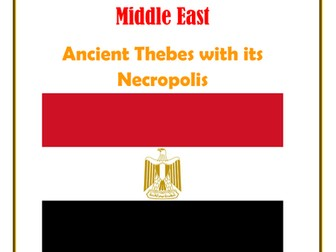 Middle East: Egypt: Ancient Thebes with its Necropolis
