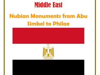 Middle East: Egypt: Nubian Monuments from Abu Simbel to Philae
