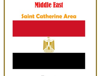 Middle East: Egypt: Saint Catherine Area