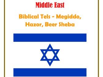 Middle East:  Isreal: Biblical Tels - Megiddo, Hazor, Beer Sheba