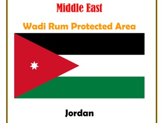 Middle East:  Jordan:  Wadi Rum Protected Area