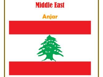 Middle East:  Lebanon:  Anjar