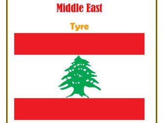 Middle East:  Lebanon:  Tyre