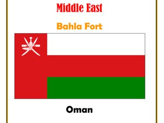 Middle East:  Oman:  Bahla Fort