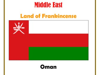 Middle East:  Oman:  Land of Frankincense