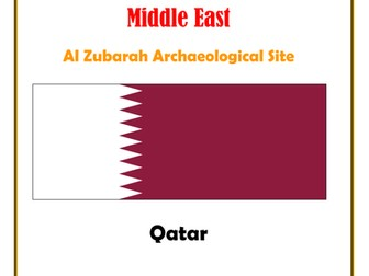 Middle East: Qatar:  Al Zubarah Archaeological Site