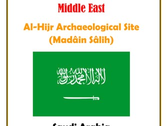 Middle East:  Saudi Arabia:  Al-Hijr Archaeological Site (Madâin Sâlih)