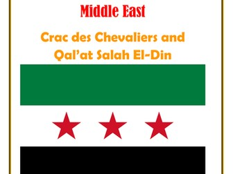 Middle East:  Syria: Crac des Chevaliers and Qal'at Salah El-Din