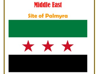Middle East:  Syria: Site of Palmyra