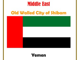 Middle East:  Yemen:  Old Walled City of Shibam