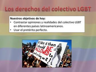Los derechos del colectivo LGBT