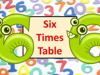 Six Times Table Practice