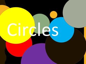 Circles - Teaching / Display Powerpoint