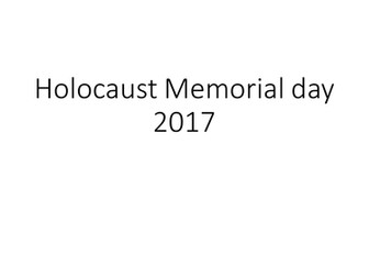 Holocaust Memorial Day Assembly