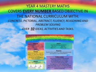 YEAR 4 MASTERY MATHS cpa NUMBER