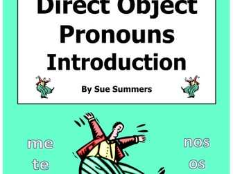 Spanish Direct Object Pronouns Introduction
