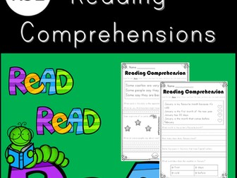 February Reading Comprehensions for KS1