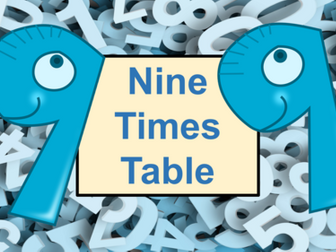 Nine Times Table Practice