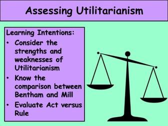 5. Assessing Utilitarianism - OCR H573 (2016)