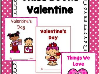 Valentine's Day Class Books