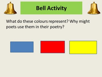 Unseen poetry AQA Literature - Helping students to approach the unseen poetry question