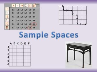 Sample Spaces