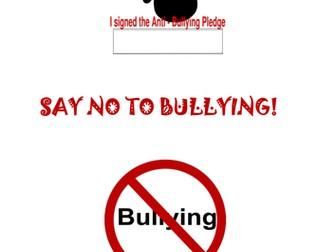 Say No to Bullying Pack