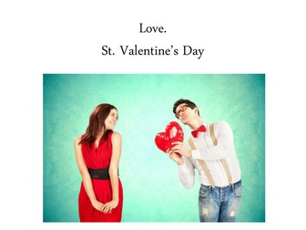St Valentines Day lesson